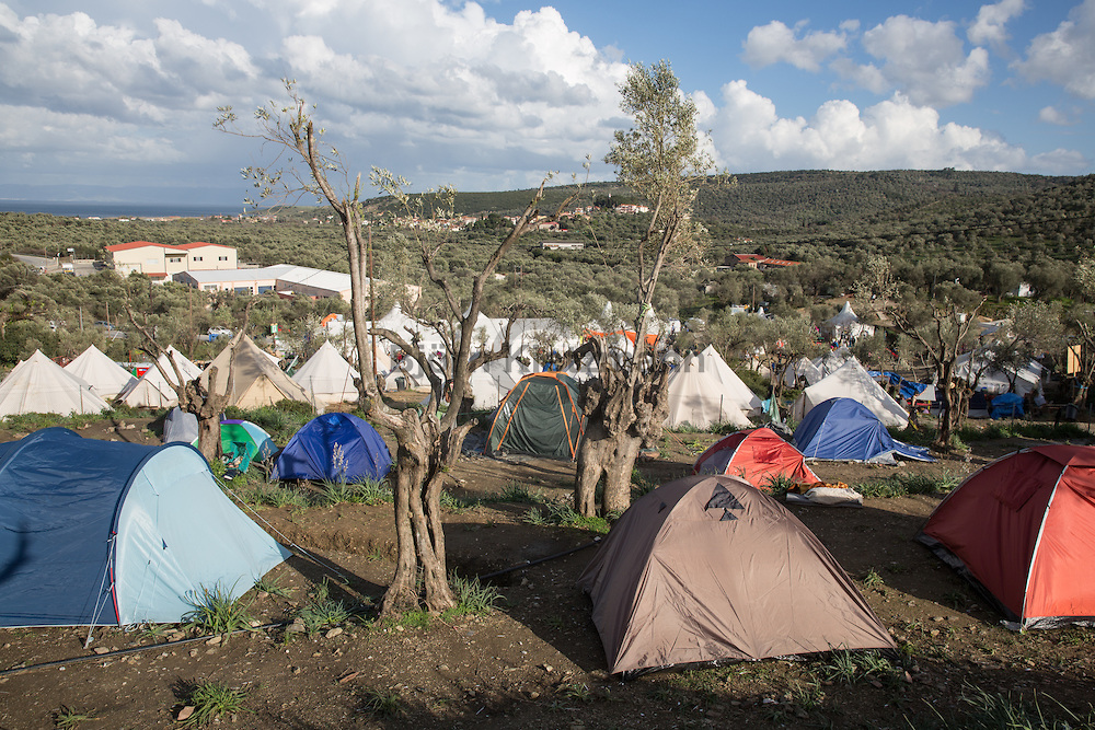 Better Days in Moria Refugee Camp on Lesvos
