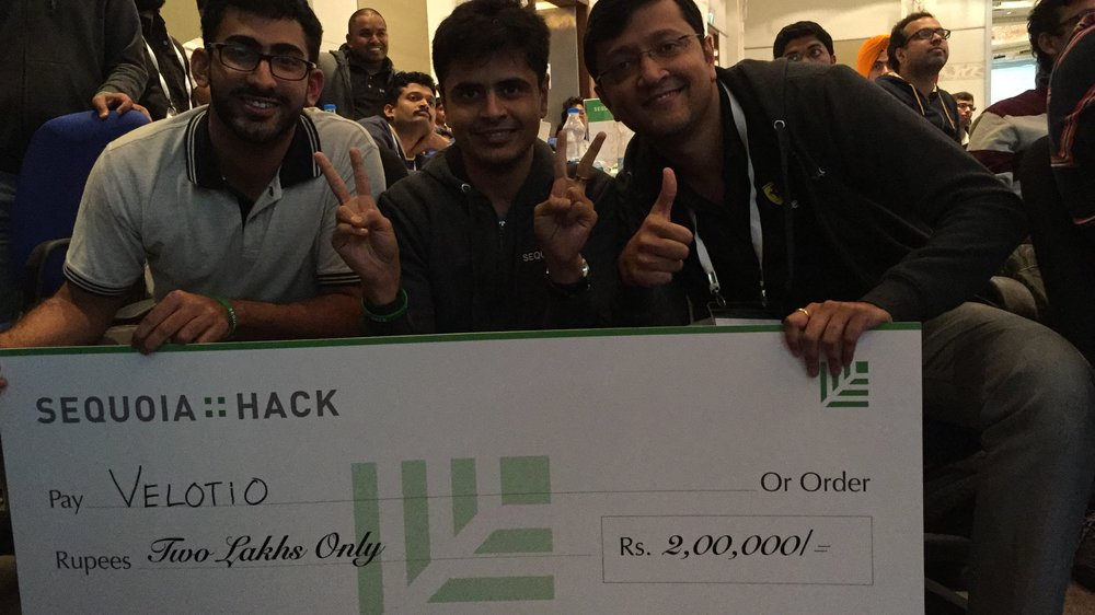 Winners at Sequoia Hack 2016