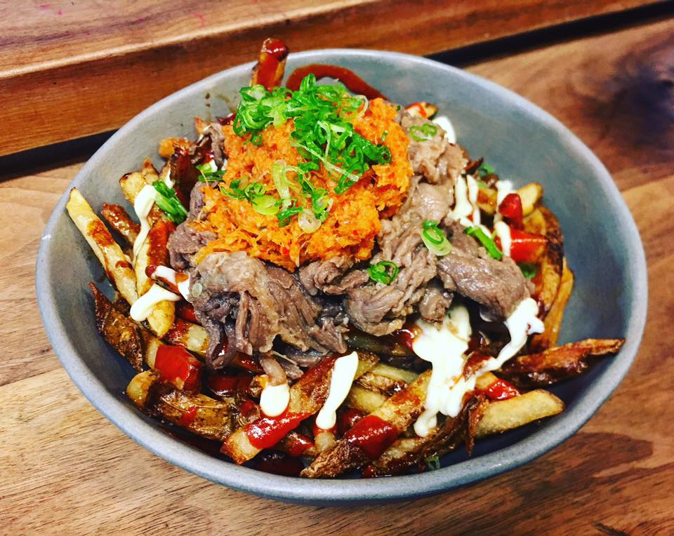 Chef Daniel Lee's tribute to poutine. Via Facebook.