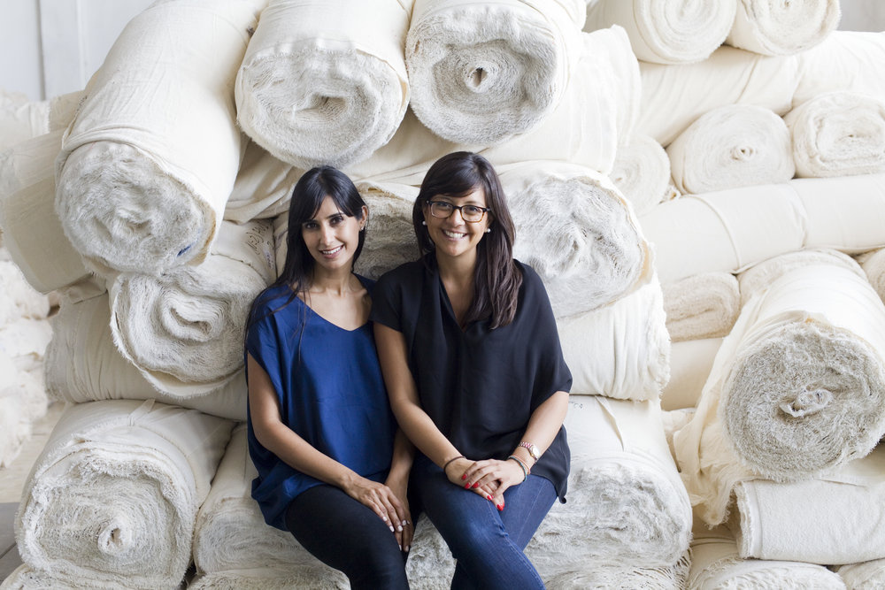 Cuyana's founders Shilpa Shah and Karla Gallardo, photo courtesy of Cuyana