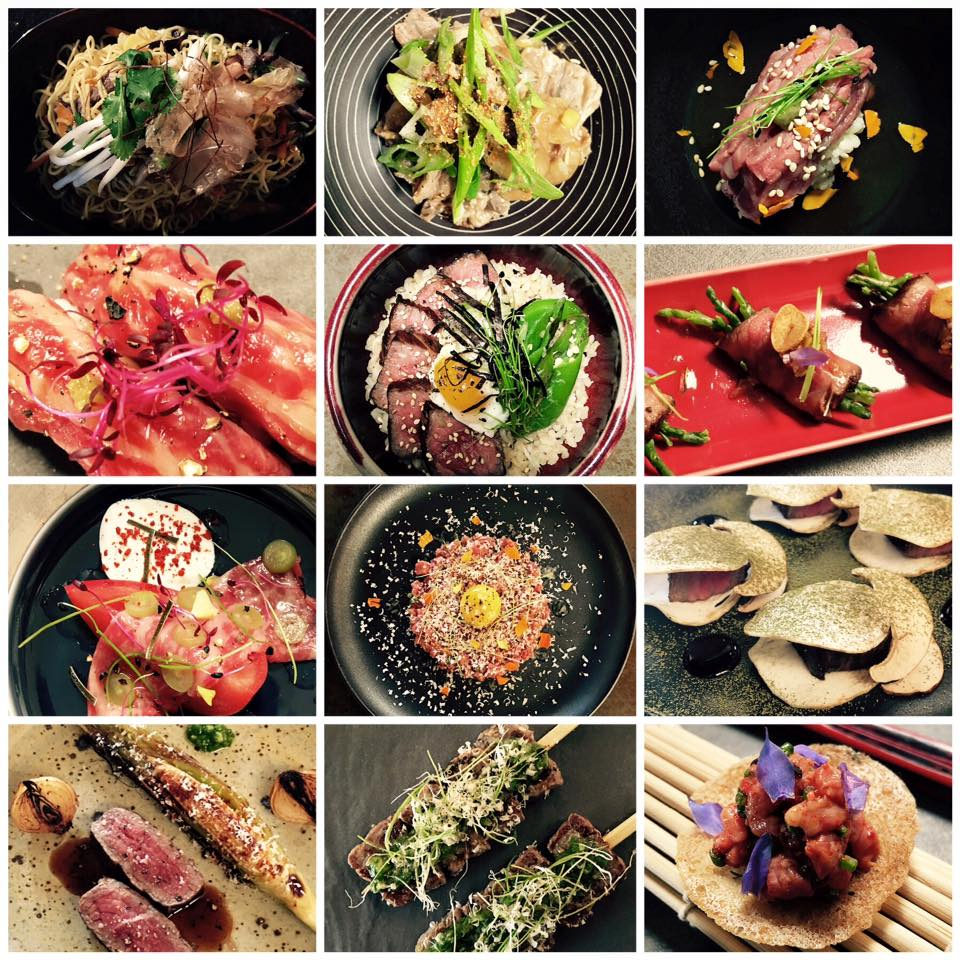 A selection of Chef Noriyuki Sugie's menu.