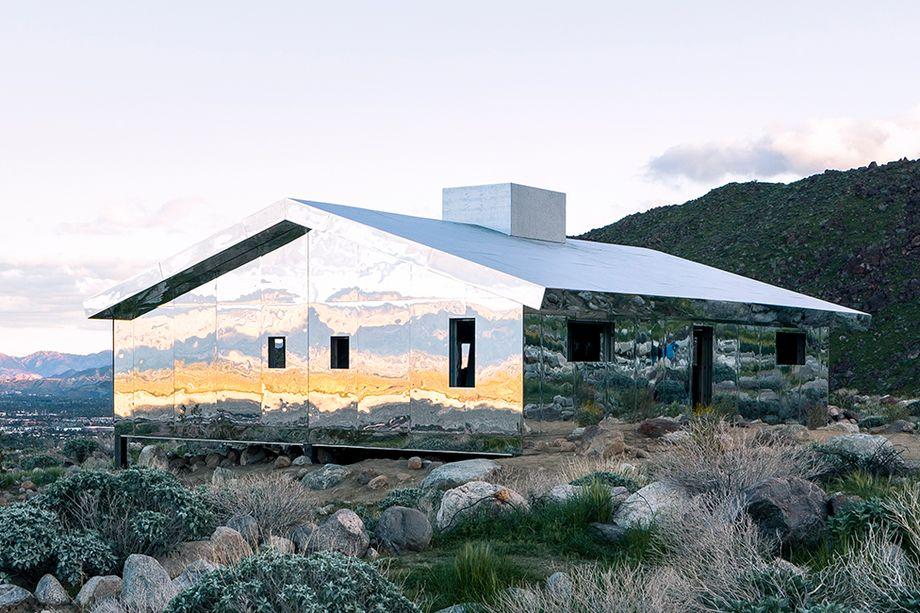 "Doug Aitken 's "" Mirage "", Photo by Lance Gerber/Designboom"