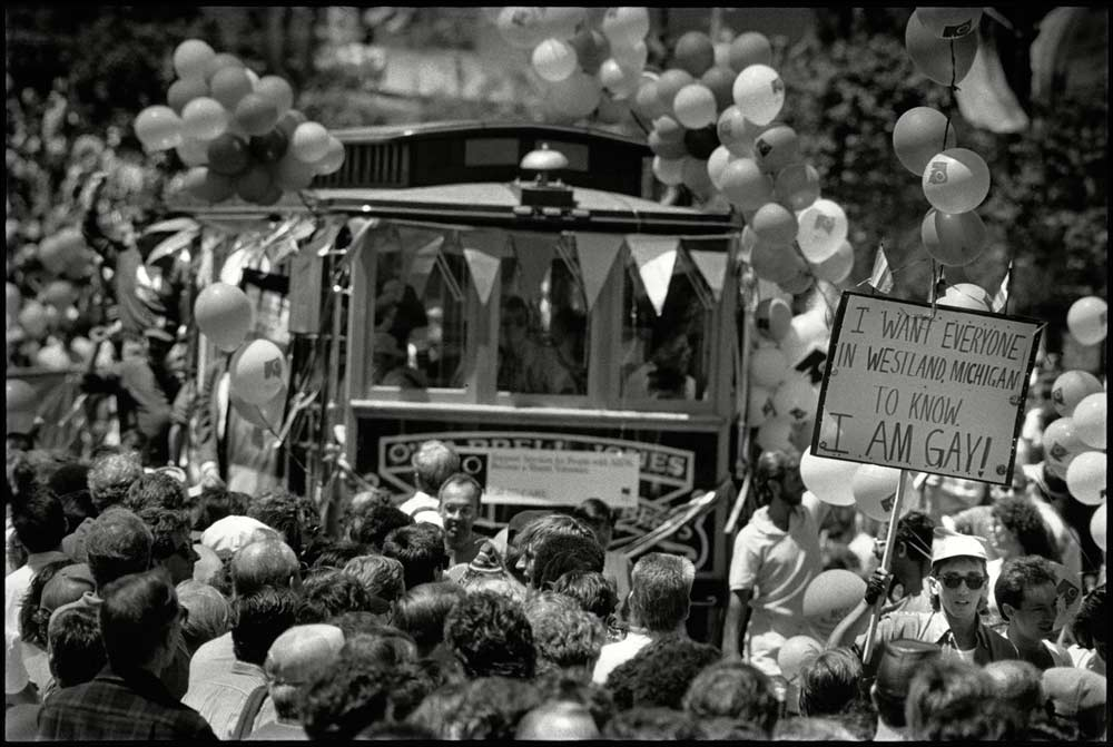 Photo courtesy of the  Harvey Milk Photo Center