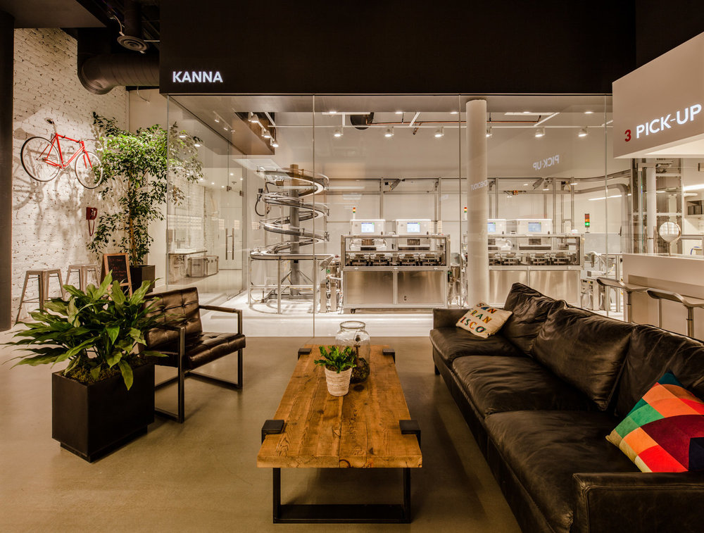 The JINS Eyewear Flagship Lounge