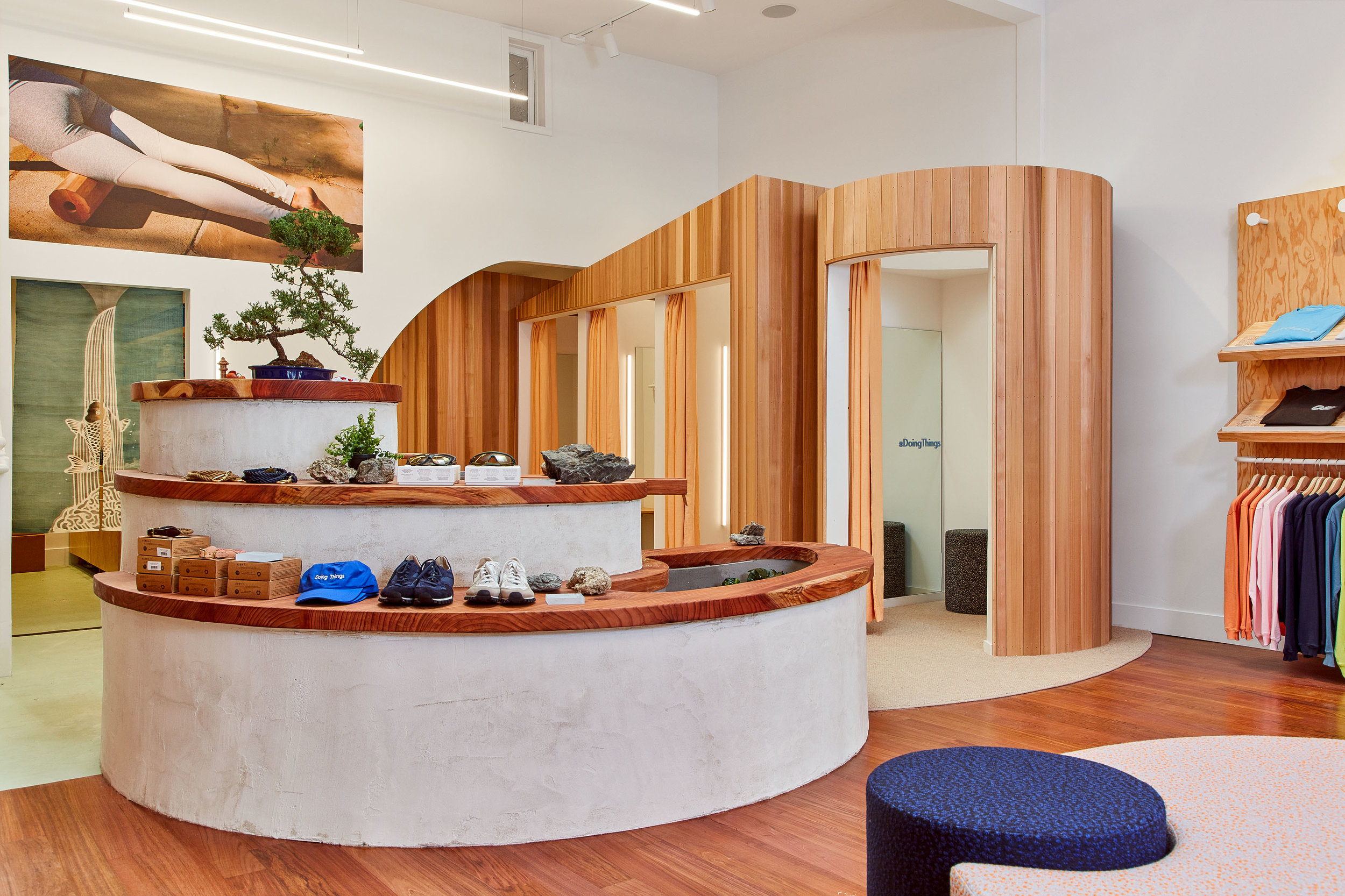 Bob Cut Mag U2014 Shop Talk: Outdoor Voices Moves Into Hayes Valley And Their Interior  Design Game Is Fire
