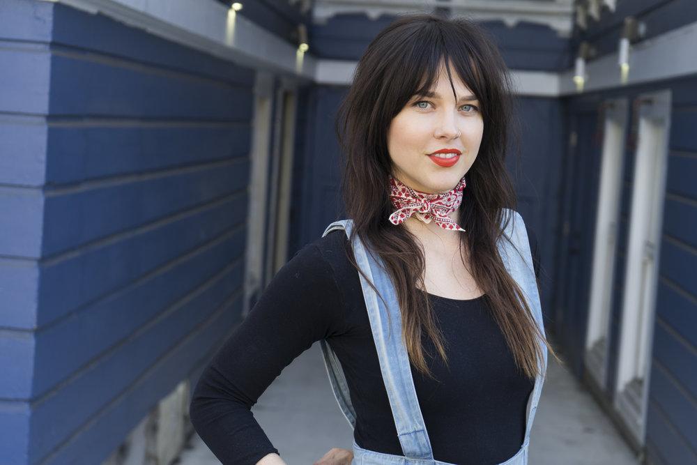 Senior stylist Noelle Vandenberg