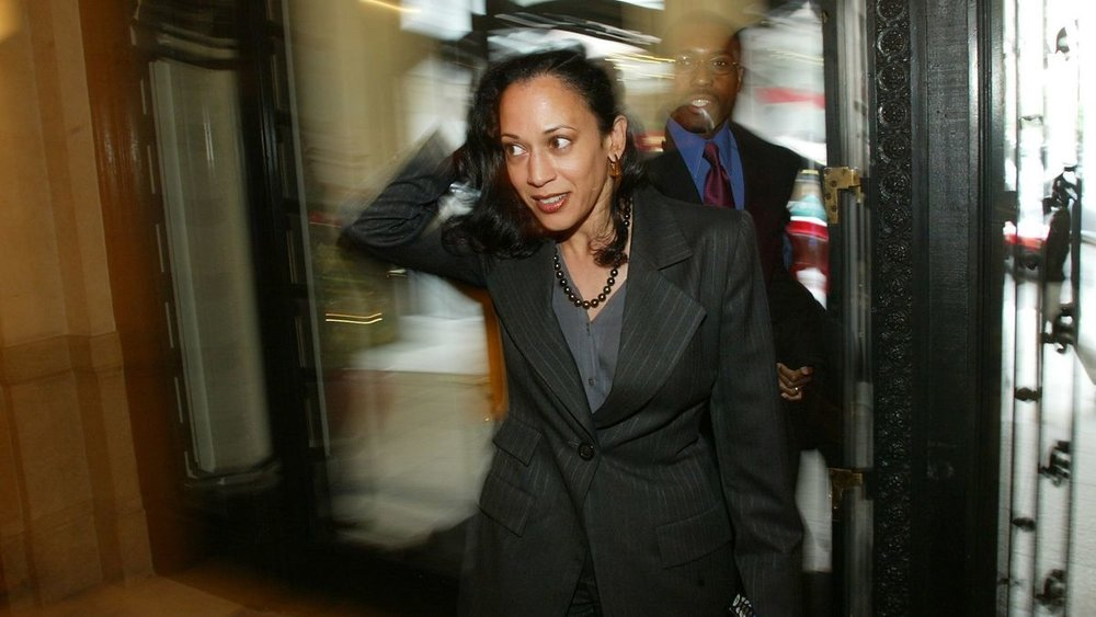 Kamala Harris in the beginnings of her career in San Francisco. Robert Durell / Los Angeles Times.