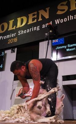Jimmy Sammuels  -Maori Pakeha event