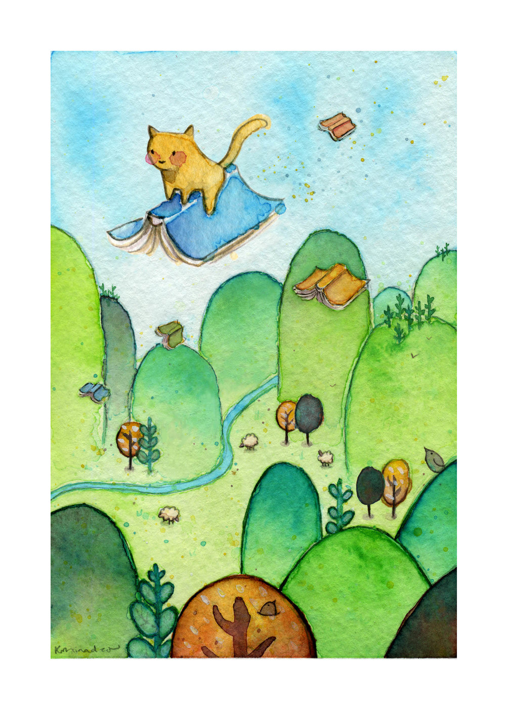 2016_0727 Cat Riding Books 2 400dpi 1MB.jpg