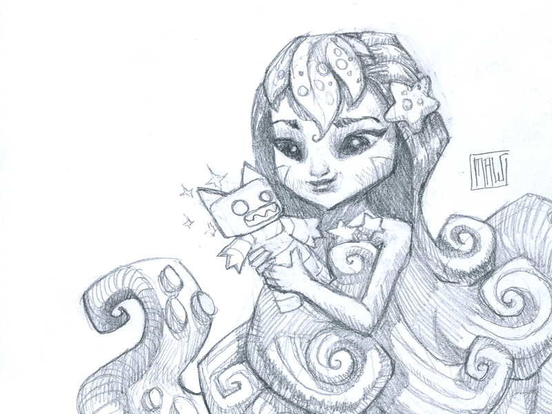 Sea Girl and Puppet.jpg