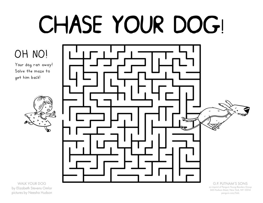 Walk Your Dog Maze