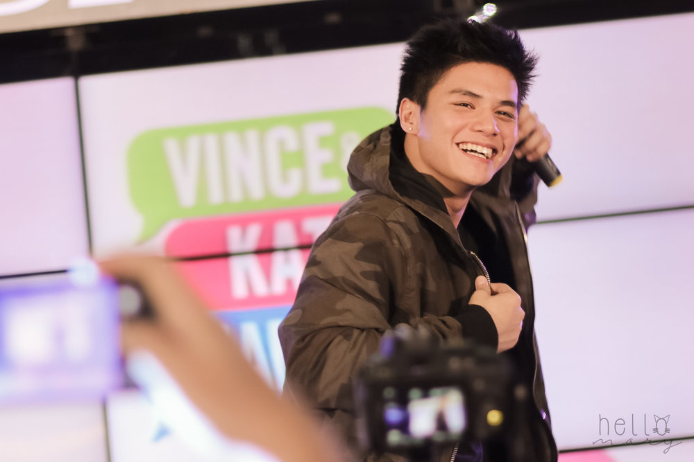 Kilig King Ronnie Alonte is James. I used to not get why everyone is so crazy about him, but his charm won me over!  Haba ng hair ni Kath!