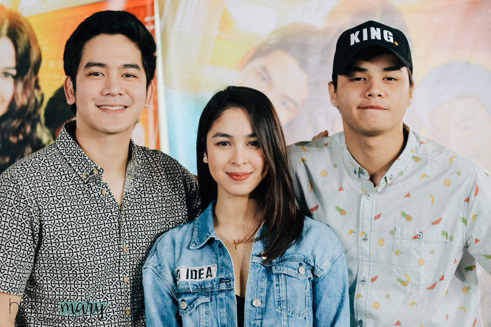 Finally, Vince and Kath and James complete!