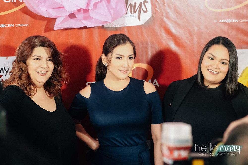 Arlene Muhlach, Ara Mina, Cai Cortez