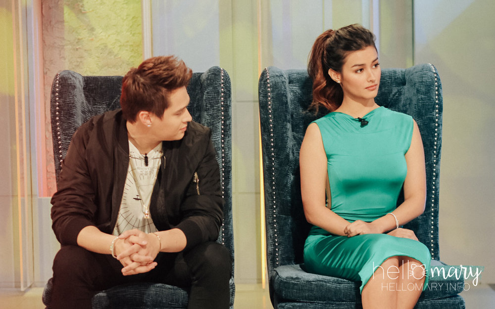 Can't keep your eyes off her, Quen?