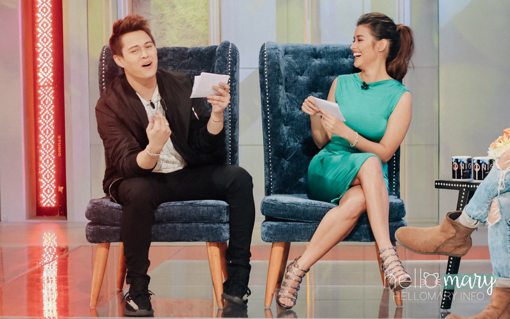 AAAAANDDD HERE WE GO! LizQuen ask each other Fast Talk questions! <3