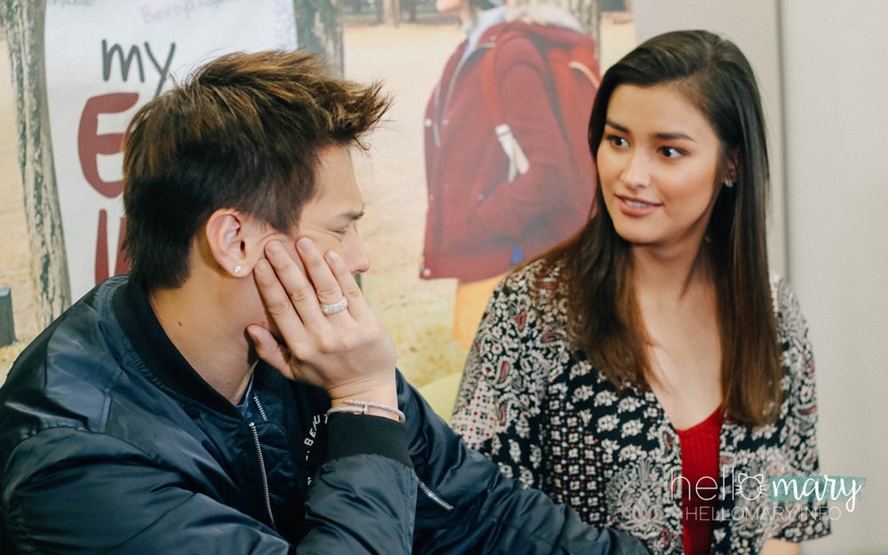 "The ""huy Quen you're not supposed to say that!"" face."