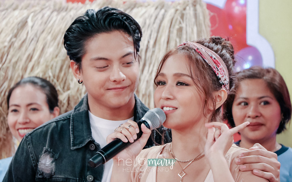 Can I just say, I love this picture because it looks like DJ's so proud of Kath. Ang cute lang.