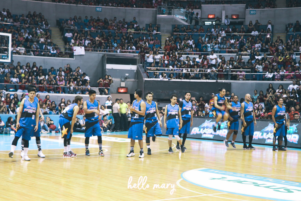 Team Blue!