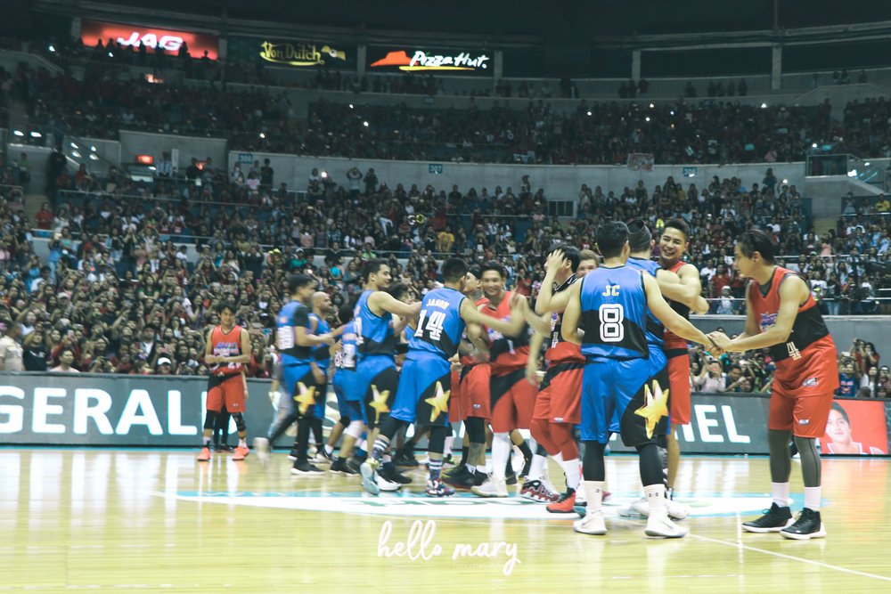 Go both teams!!! Hahahaha!
