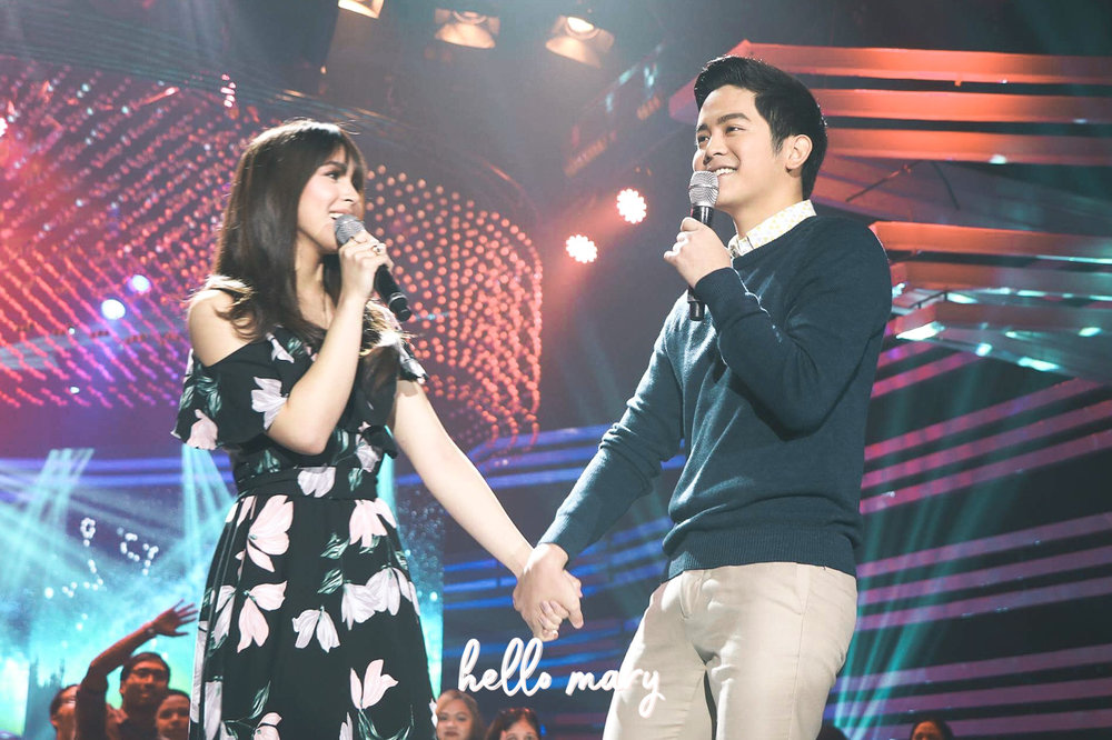 JoshLia singing Torete on ASAP