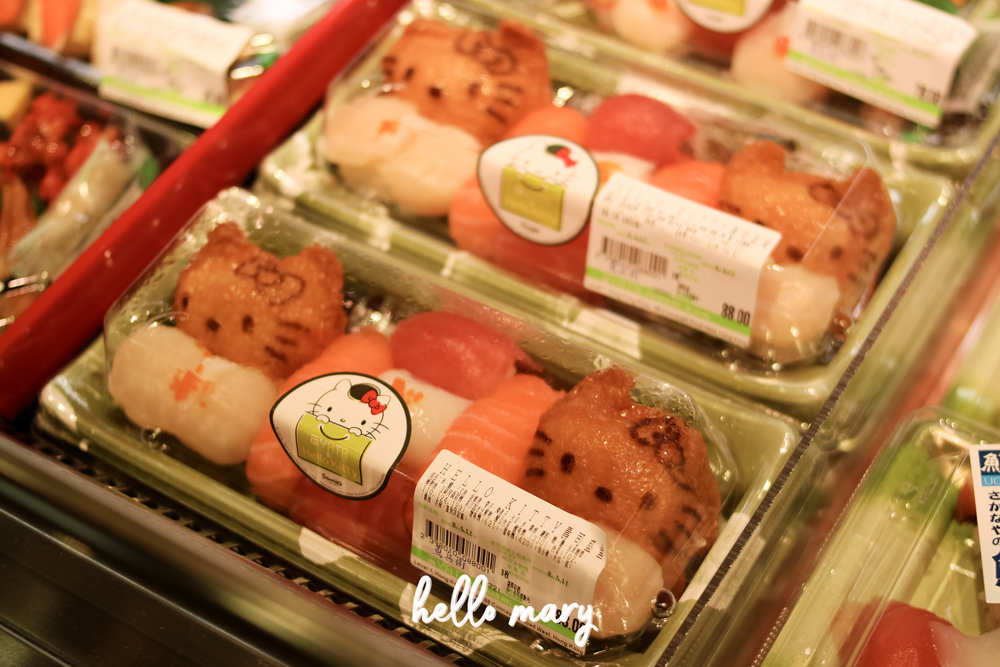 Hello Kitty sushi. Crazy!
