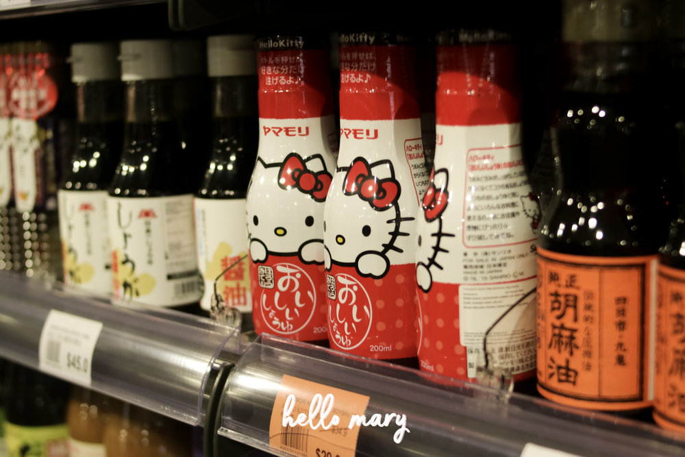 Hello Kitty soy sauce!