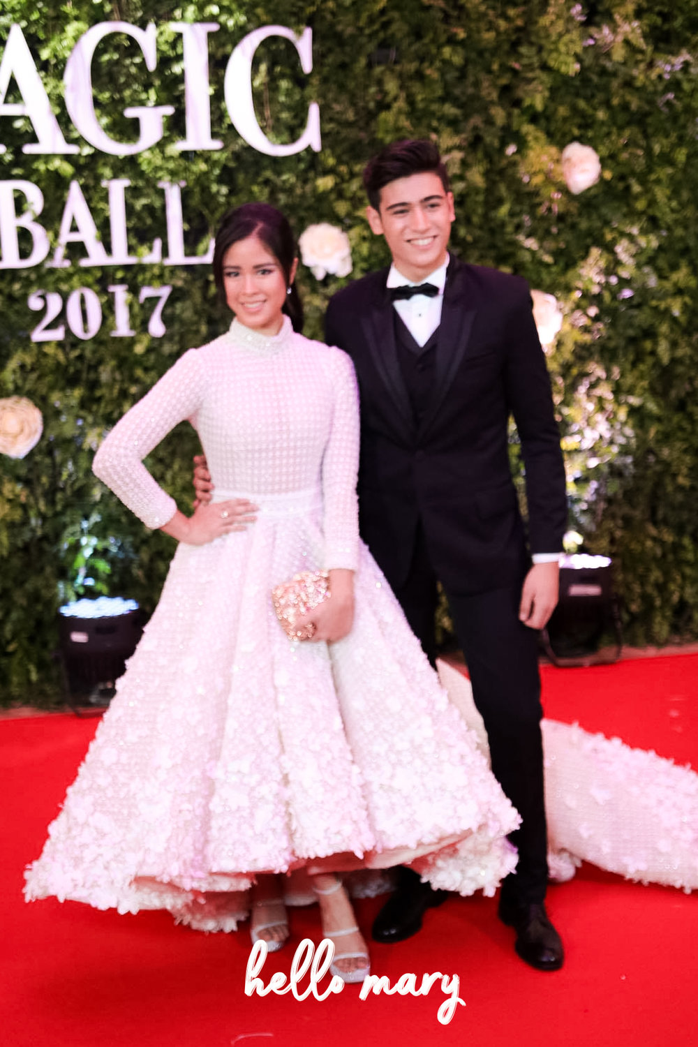 KissMarc - Kisses Delavin and Marco Gallo. Best dressed couple? Pretty much.