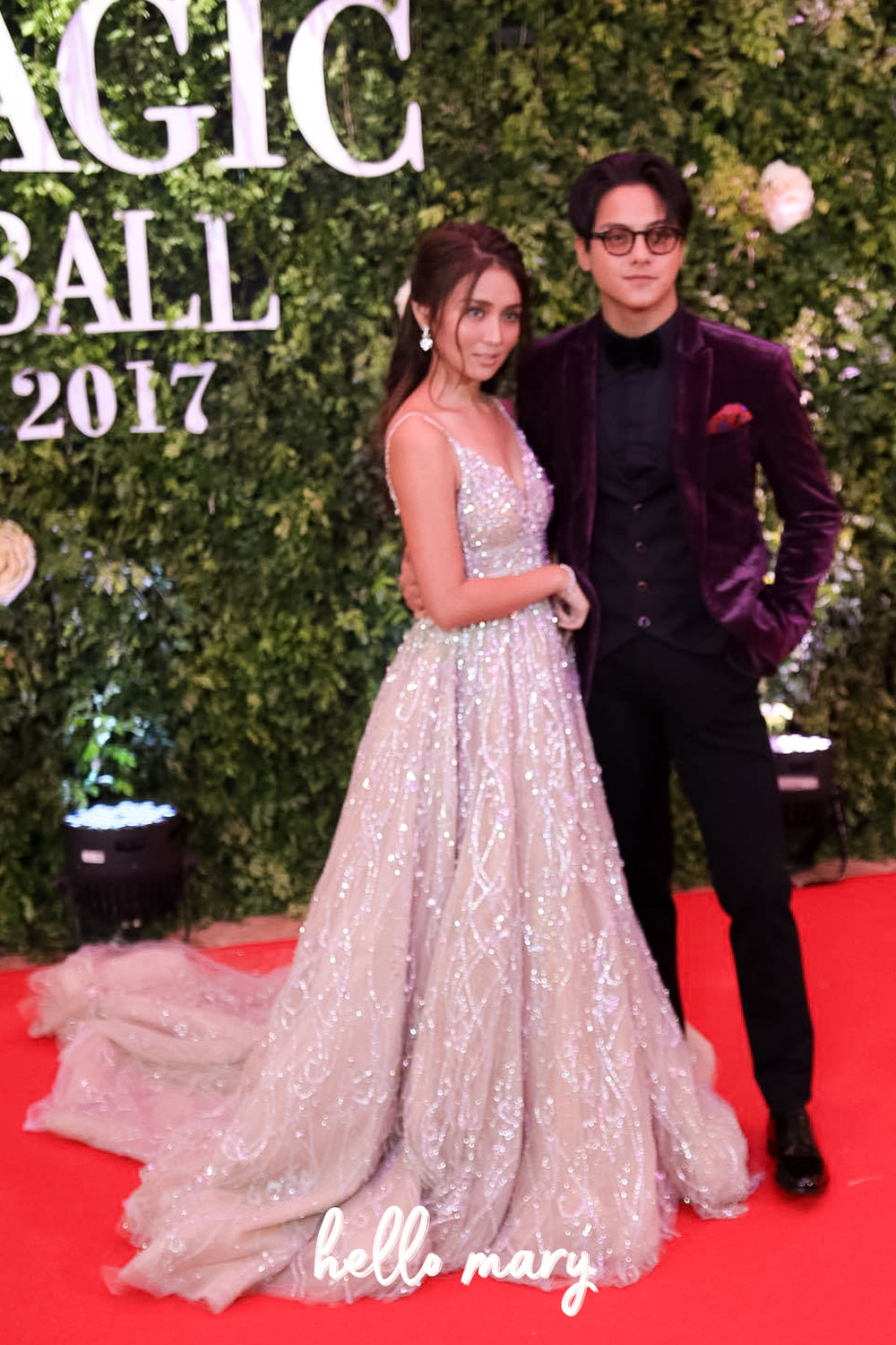 KathNiel - Super loved Kathryn Bernardo and Daniel Padill'as look for this year's ball! Ganda ni Kath and as usual kakaiba nanaman look ni DJ which he can only pull off. Kath won Brightest Star of the Night -- well deserved.
