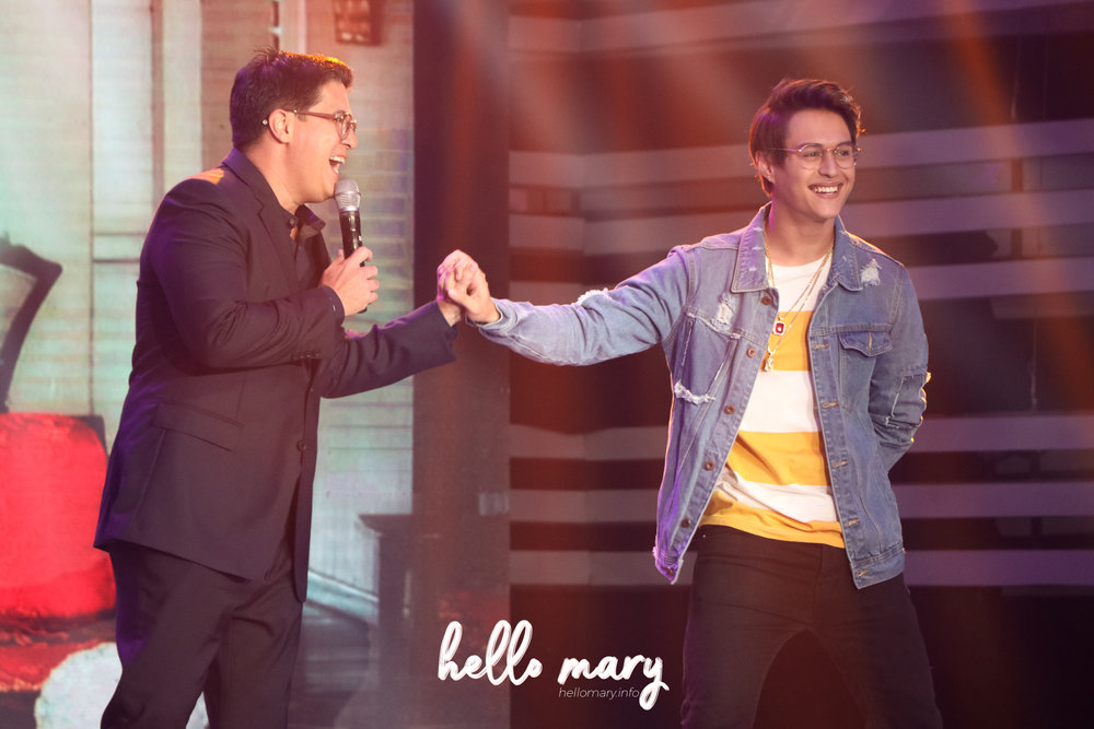 Aga Muhlach and Enrique Gil