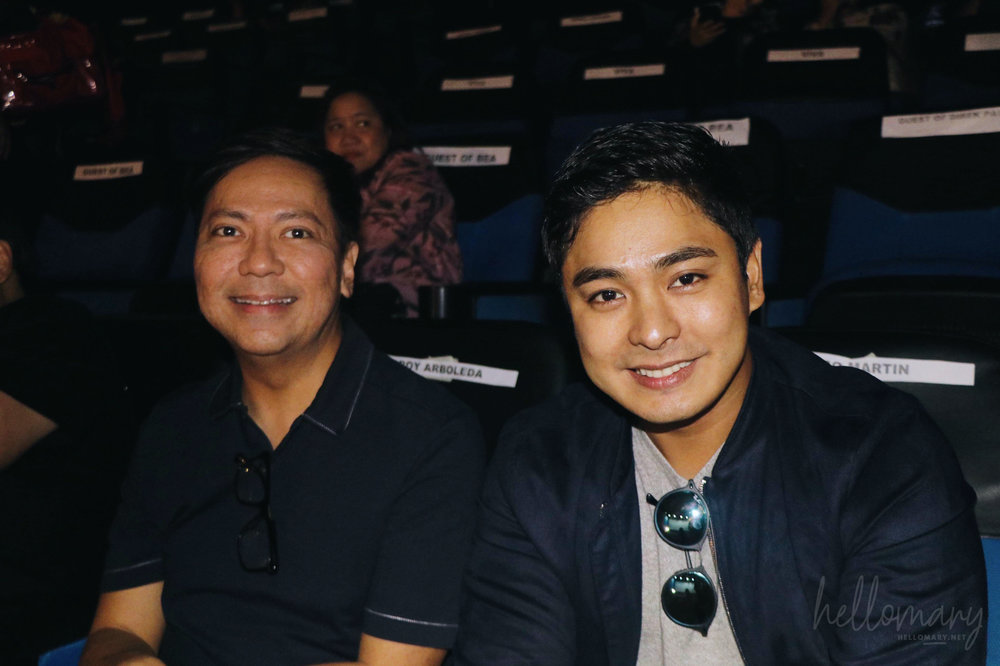 Mother Biboy and Coco Martin