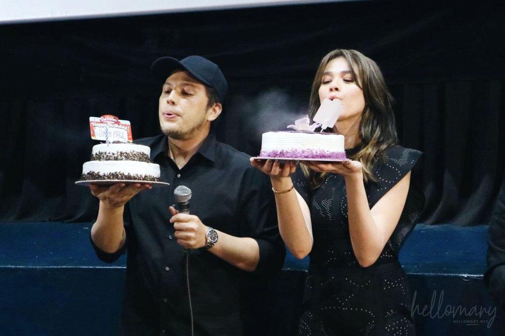 Birthday cakes!