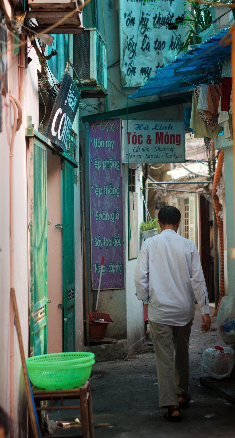 Pastel alley