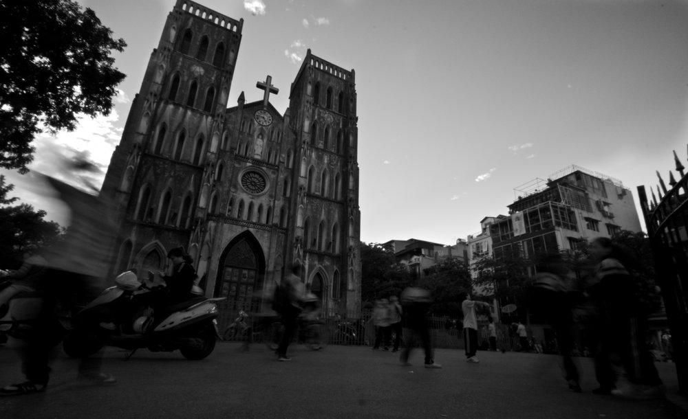 Cathedral at recess