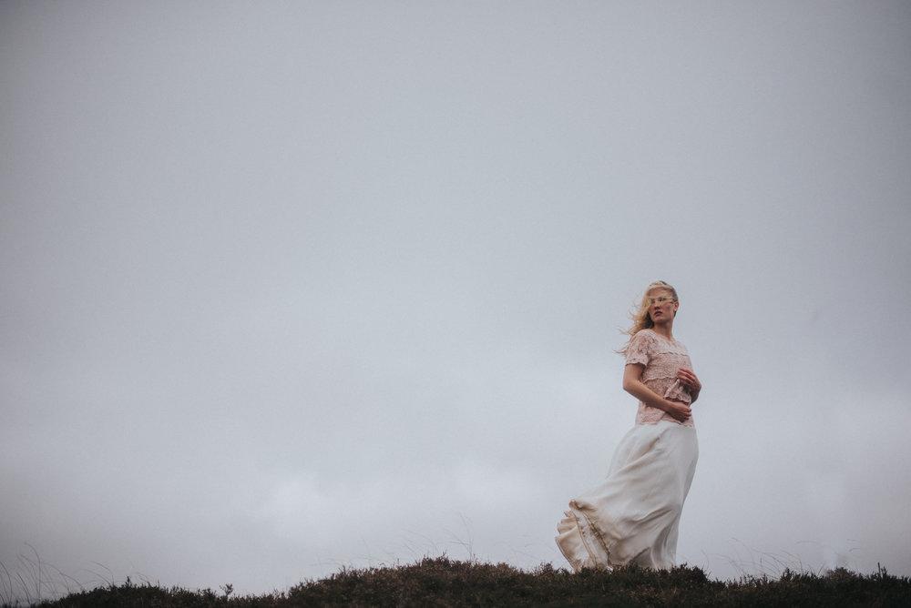winter wedding bride cuxhaven