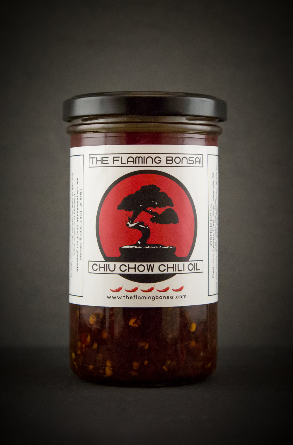 Flaming Bonsai Chiu Chow Chili Oil