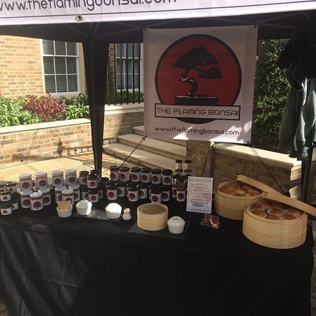 Richmond Foodies Market today, come down and enjoy.