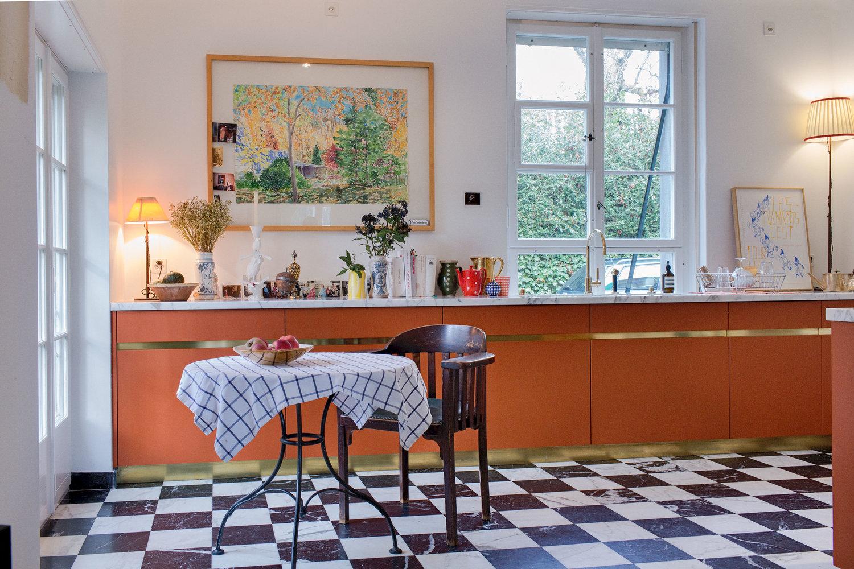 küchenumbau kurhausstrasse — möbel und bauten