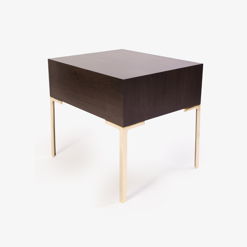 Montage Astor Brass Nightstands