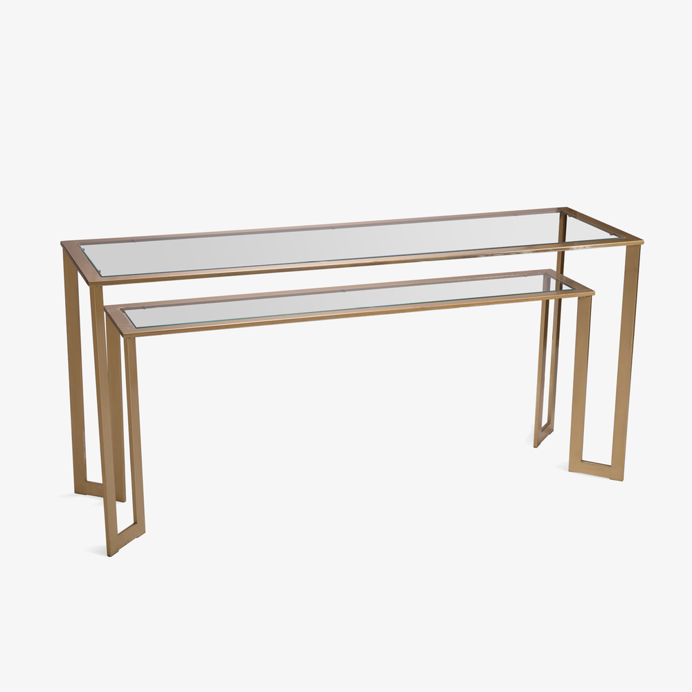 Gilt Two-Tier Geometric Console2.png
