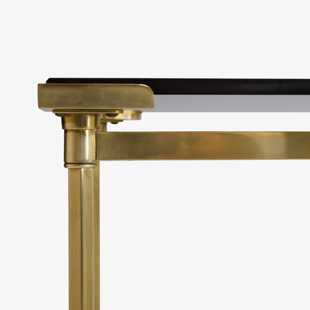 French Brass Console with Floating Smoked Glass4.png