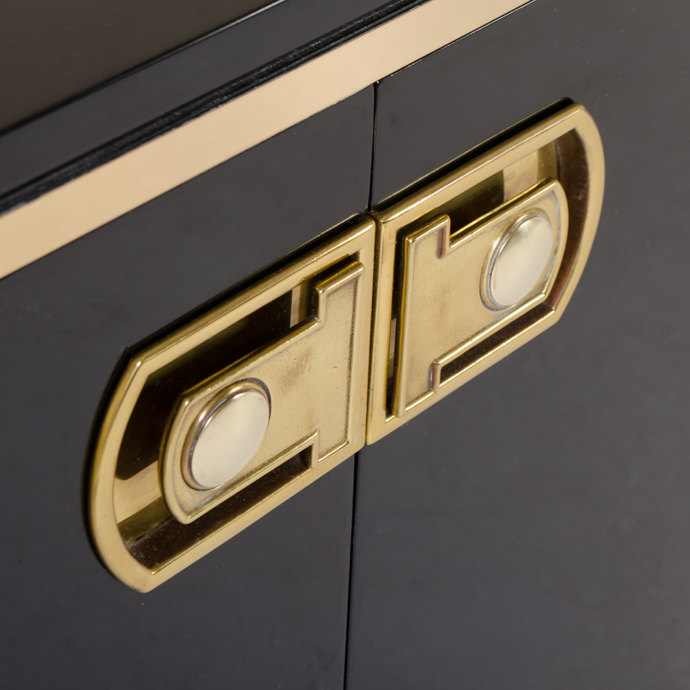 Lacquer & Brass Credenza by Mastercraft5.png