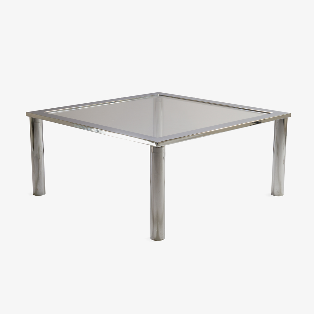Chrome Cocktail Table in the Style of Pace2.png