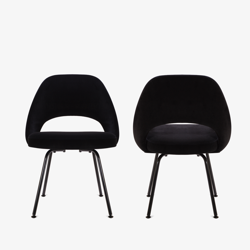 Saarinen Executive Armless Chair, Black Edition.png