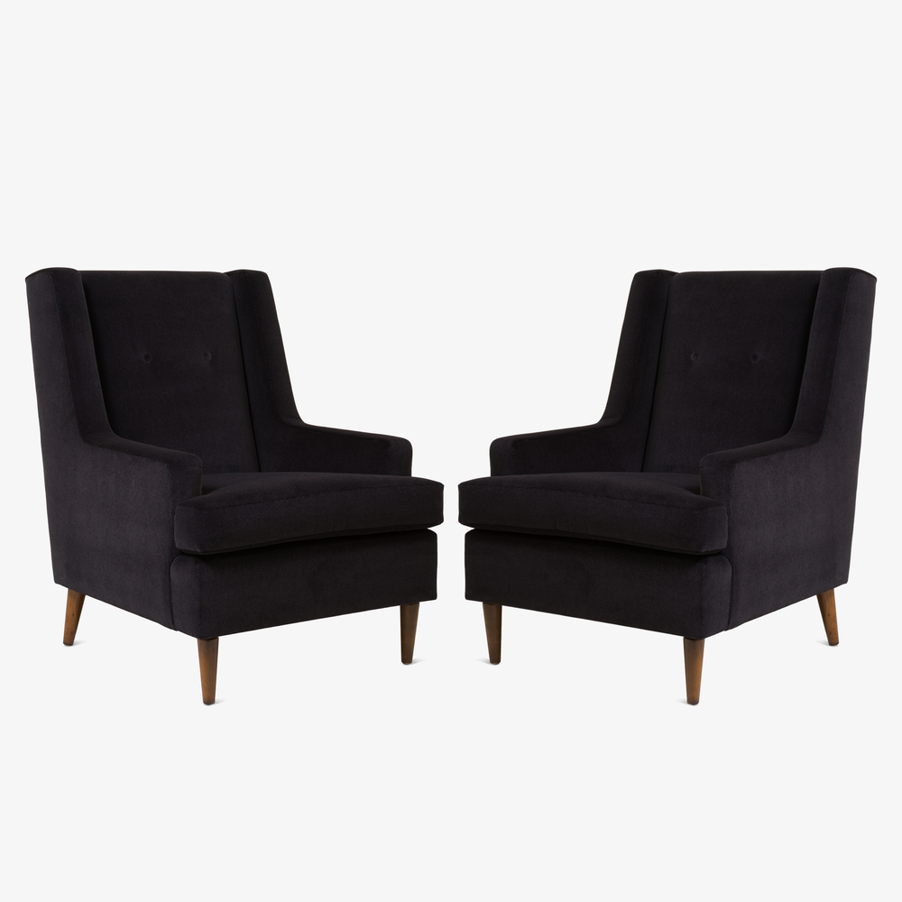 Tall Man Lounge Chairs in Bistre Mohair.png
