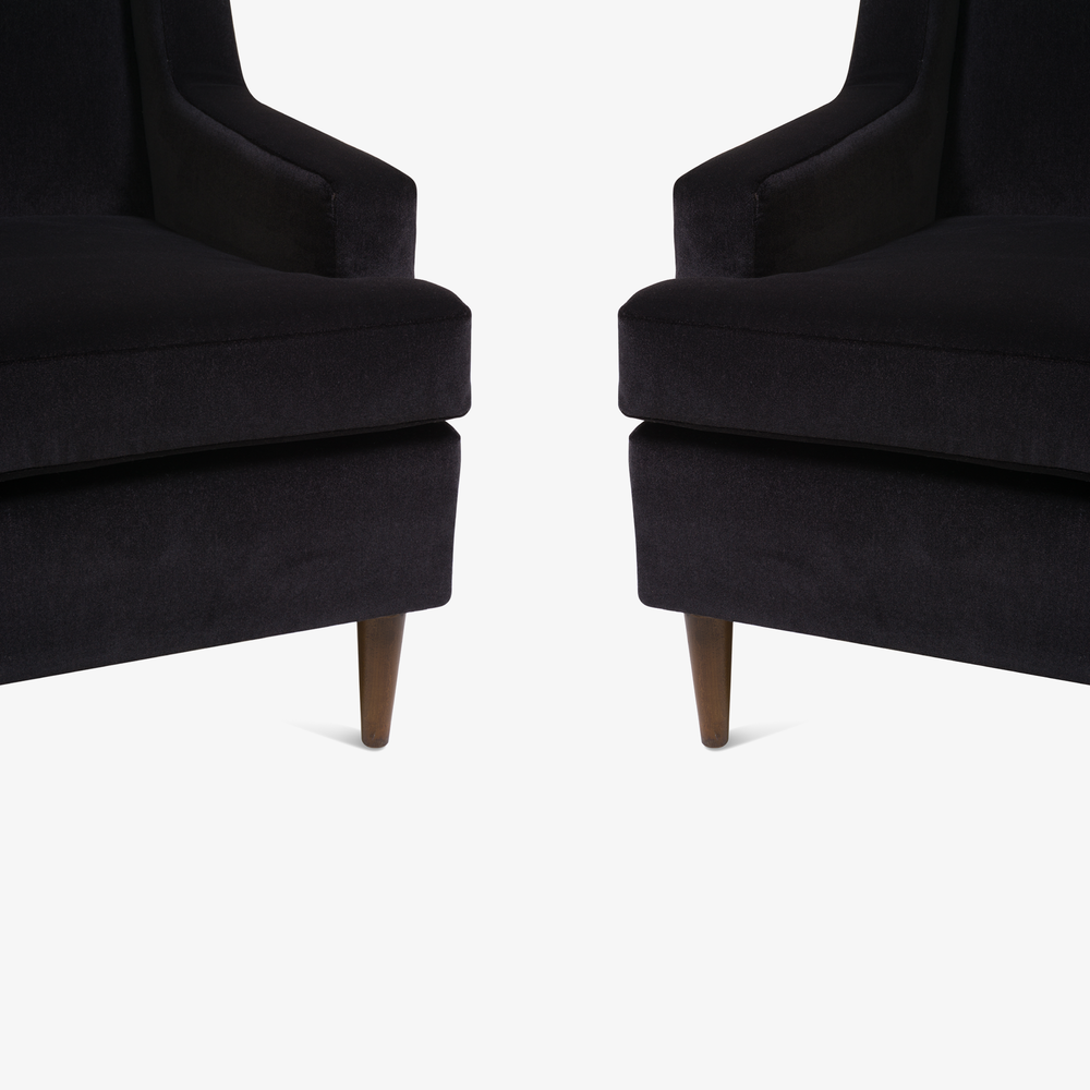 Tall Man Lounge Chairs in Bistre Mohair5.png