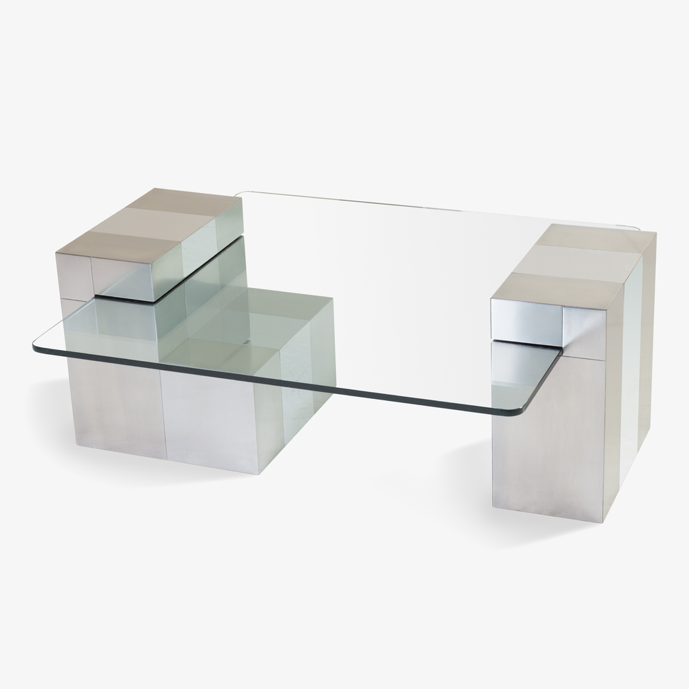 Paul Evans Attributed Suspended Glass Cityscape Cocktail Table2.png