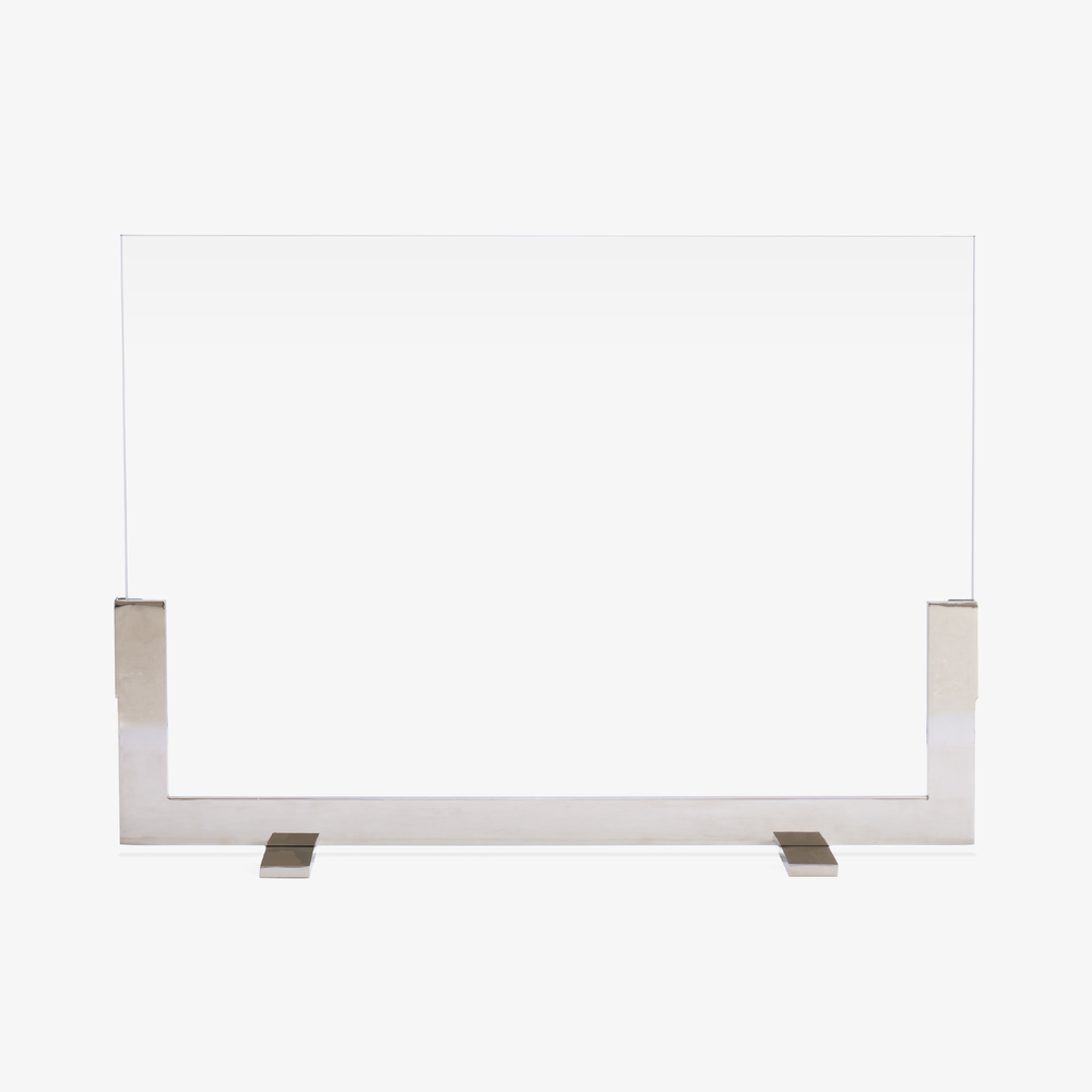 Modernist Fire Screen
