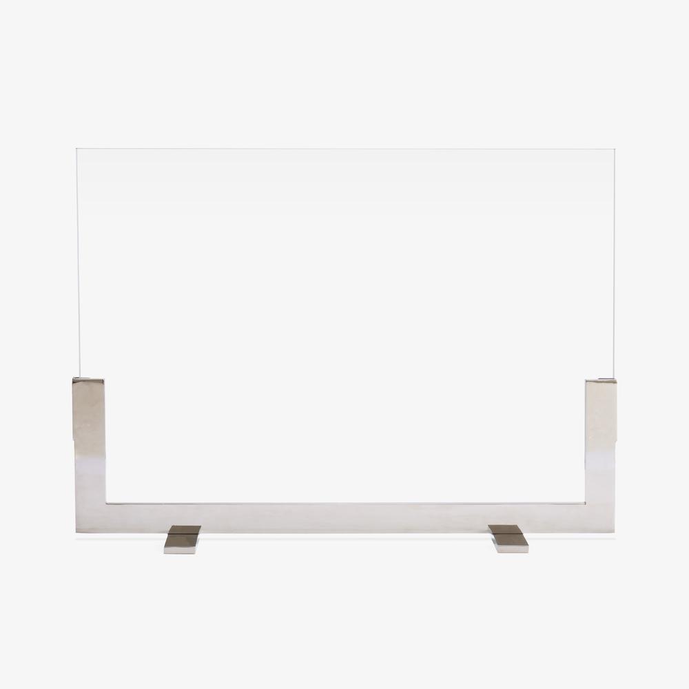 Modernist Fire Screen