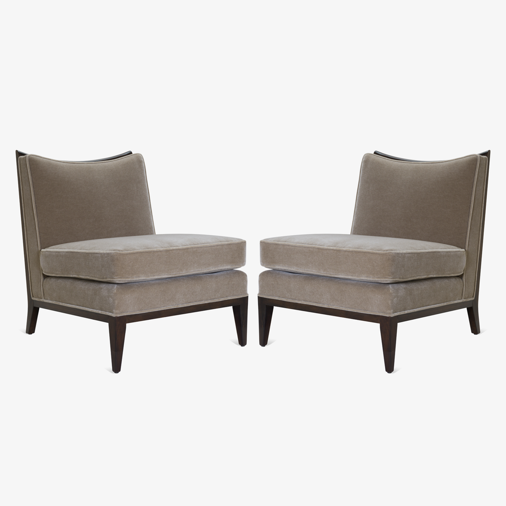 Slipper Chairs in Mohair & Walnut, Pair.png